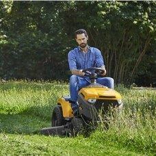 Traktoriukams su šoniniu metimu